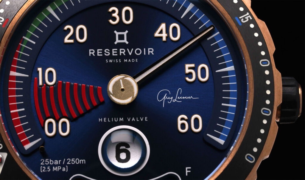 The New Hydrosphere Greg Lecoeur Edition Watch From Reservoir