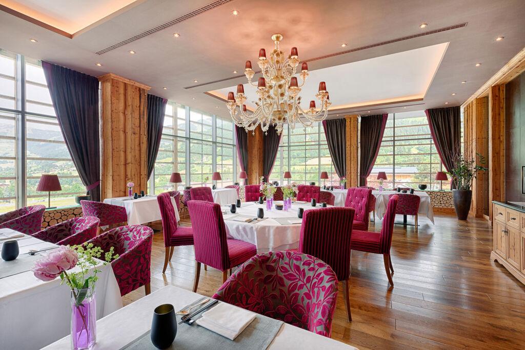 Inside the luxurious Sra Bua restaurant