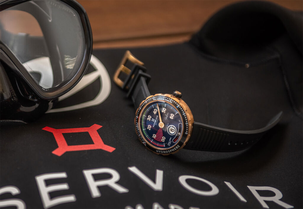 The New Hydrosphere Greg Lecoeur Edition Watch