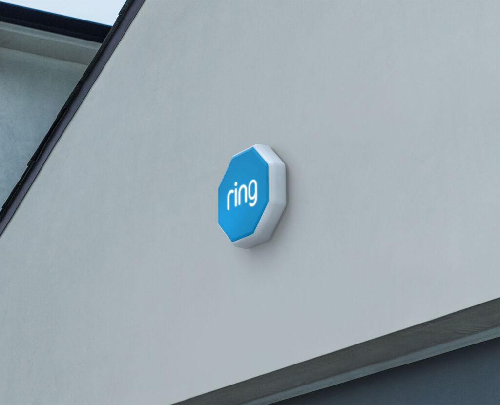 The Ring Alarm outdoor siren