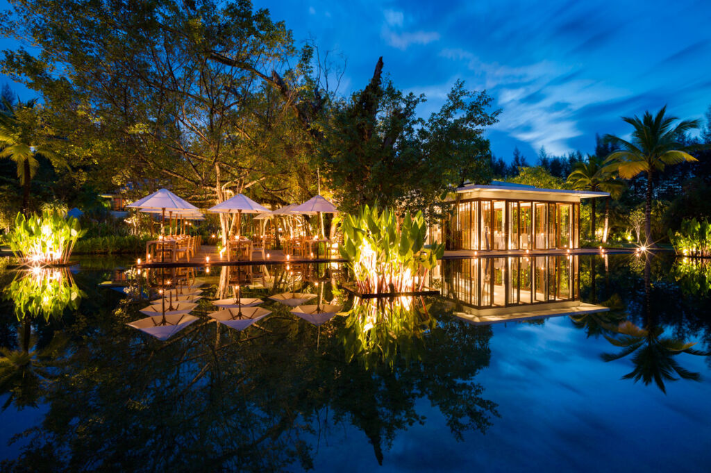 The Fiscus Restaurant at the Sarojin