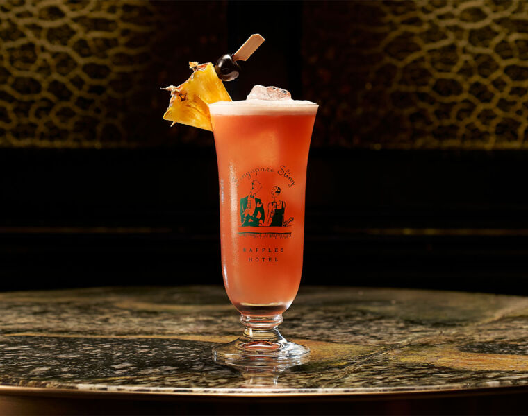 Celebrate the Inaugural Singapore Sling Day at the Iconic Long Bar
