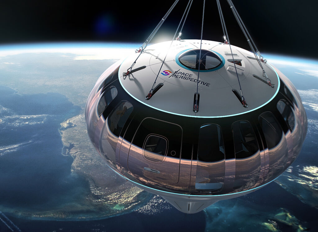 The Space Perspective capsule