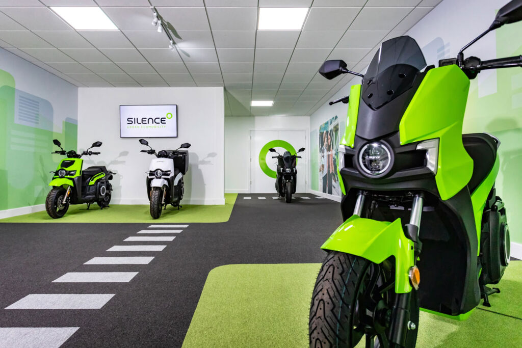 Inside the first Silence UK store in the UK
