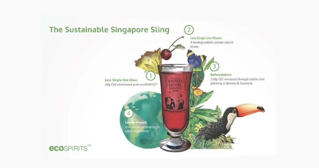 The sustainable Singapore Sling