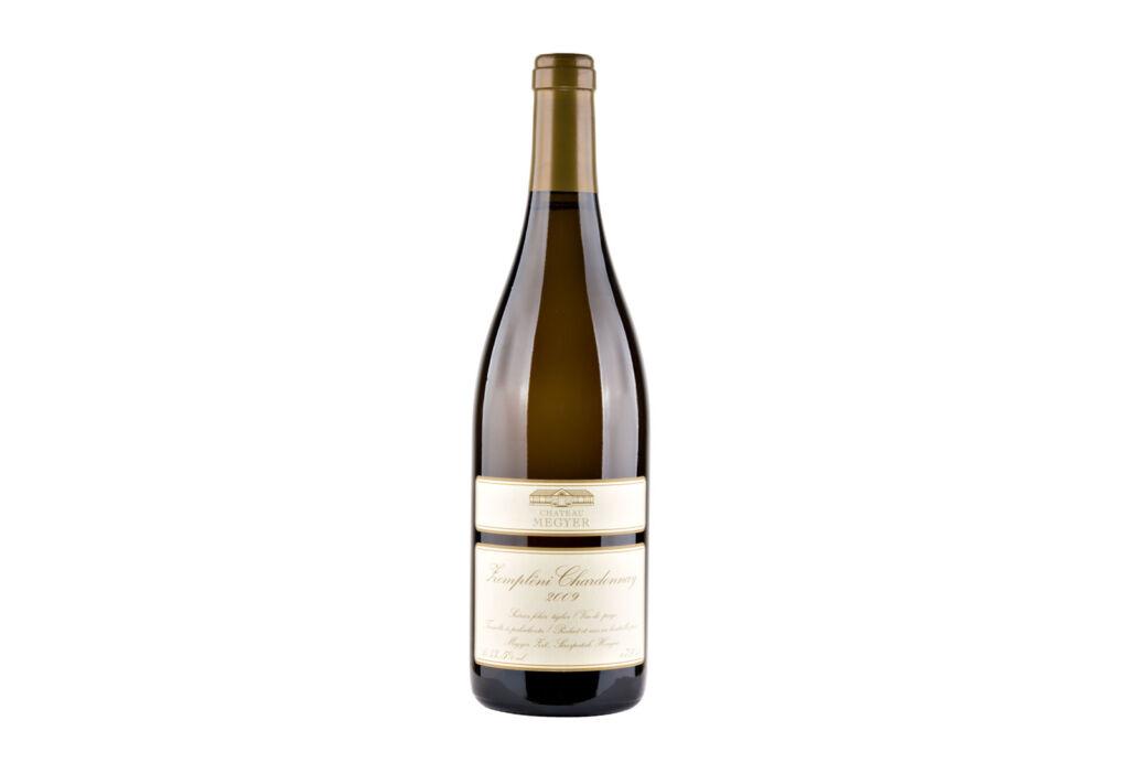 A bottle of Zempleni Chardonnay Selection 2009