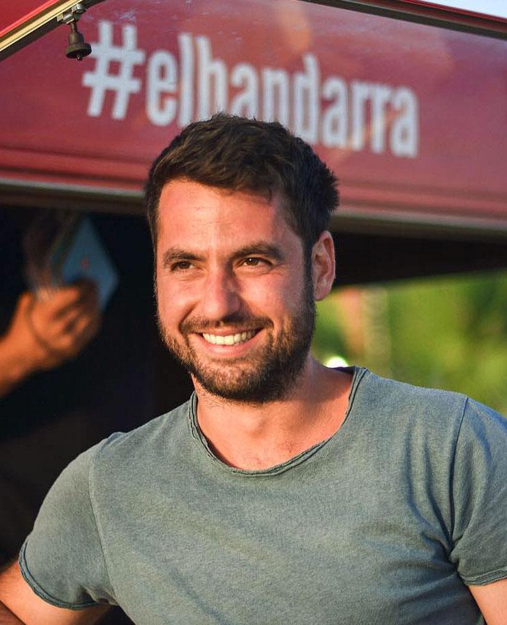 Alex Virgili, co-founder of El Bandarra