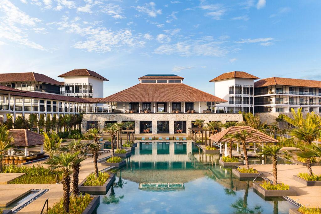 A view of the Anantara Desaru Coast Resort & Villas