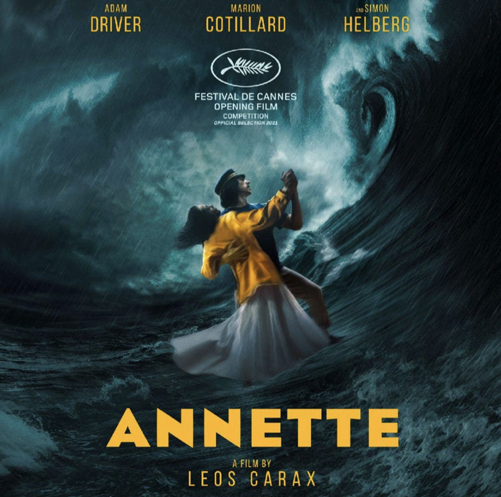 The poster for the file Annette by Leos Carax
