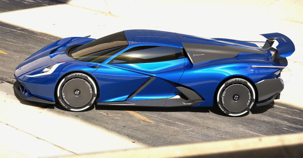 Automobili Estrema's Fulminea Electric Hypercar Combines Beauty, Performance & Range