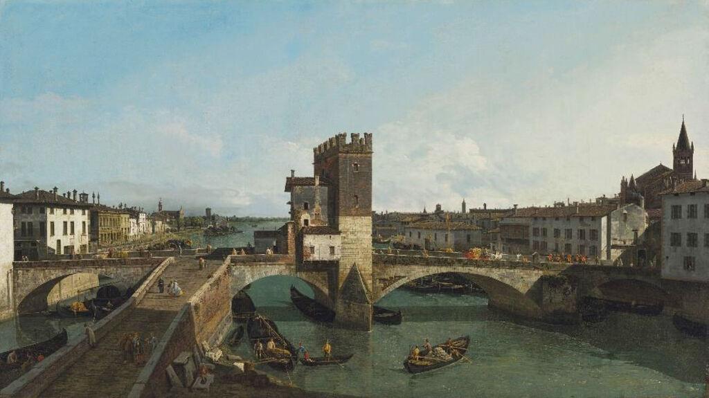 Bernardo Bellotto's View of Verona