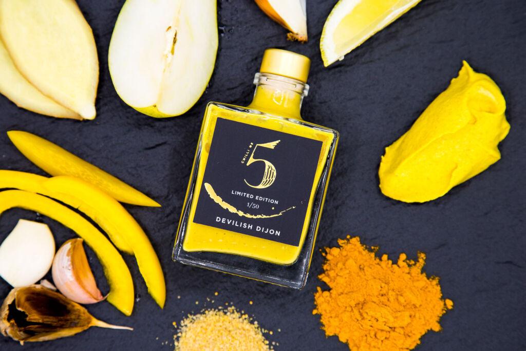 Chilli No 5 launches a New Luxury Hot Sauce Called Devilish Dijon