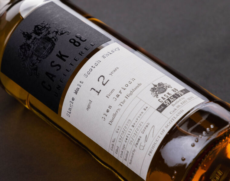Cask 88 Announces The Launch Of Its Unfiltered Whisky Series