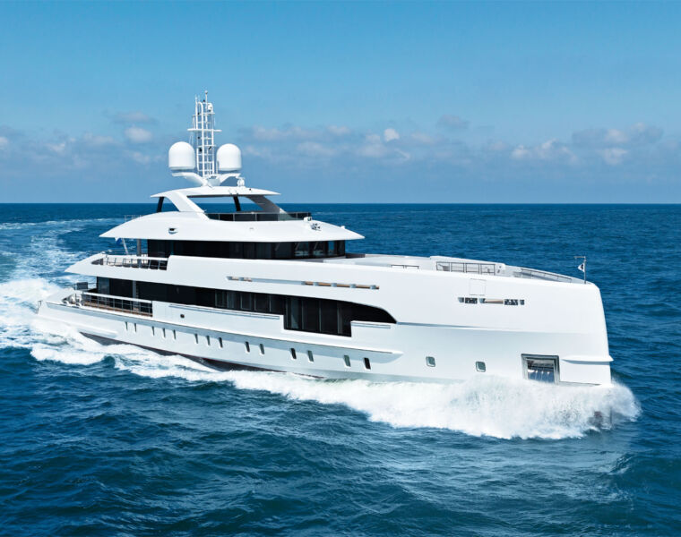 Heesen Yachts Delivers 50-Metre MY ELA Superyacht to New Owners