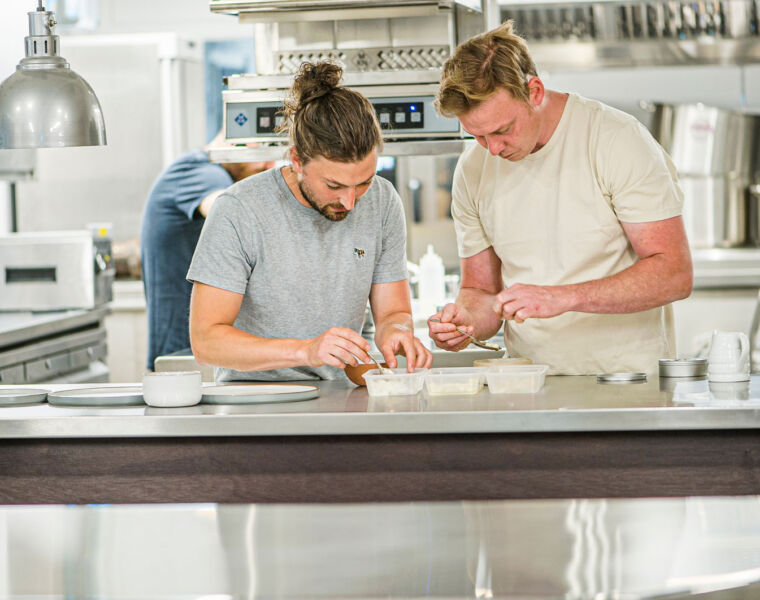 Heft - Head Chef Tom Dicken and Chef Patron Kevin Tickle