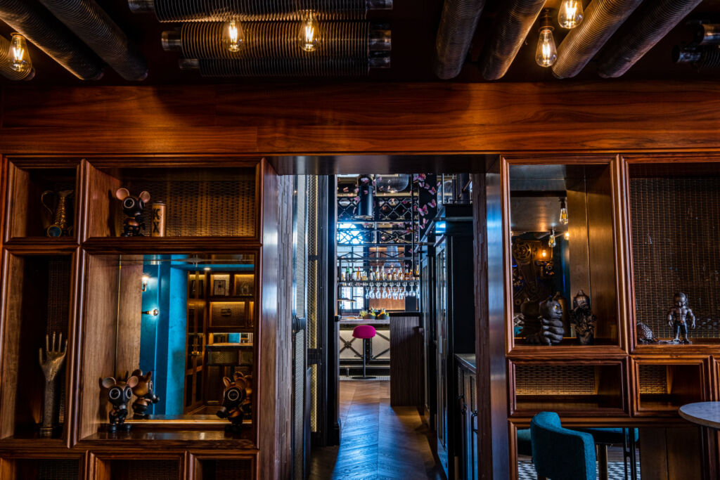 Private dining inside Magenta King's Cross