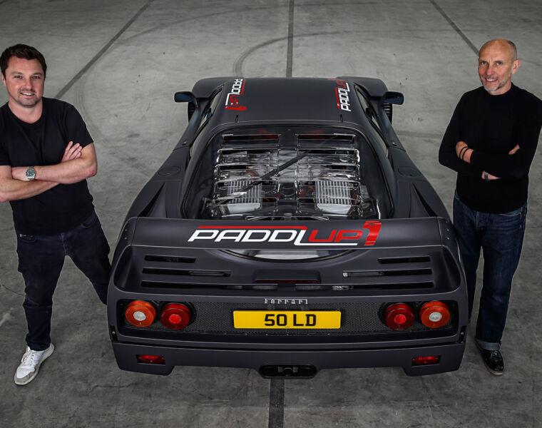 Joe Priday and Tim Mayneord Founders of PaddlUp