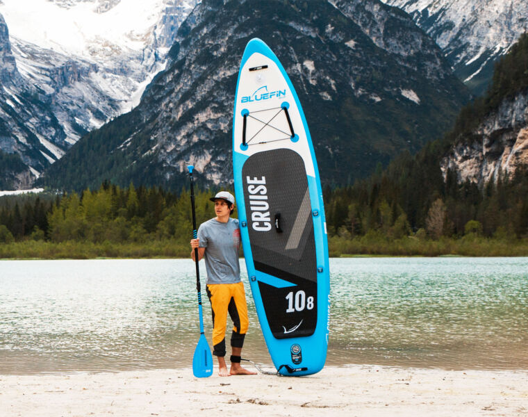 Bluefin SUP's Aura Fit Paddleboard Provides Plenty of Summer Fun