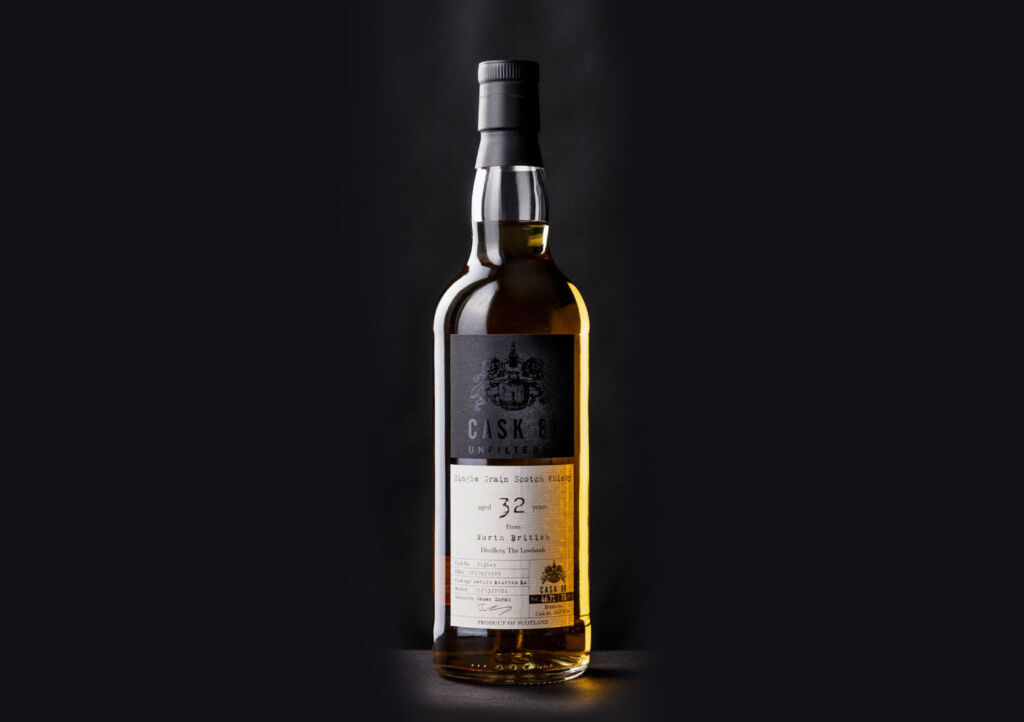 A bottle of North British 32-Year-Old