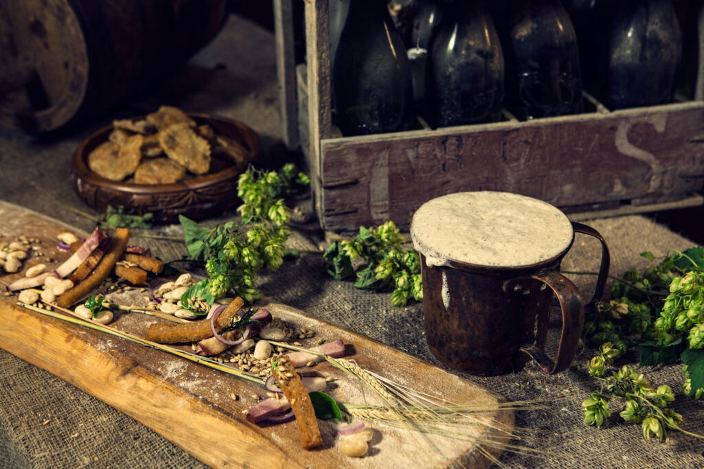 Inside a Lithuanian brewing house that uses traditional methods to make beer