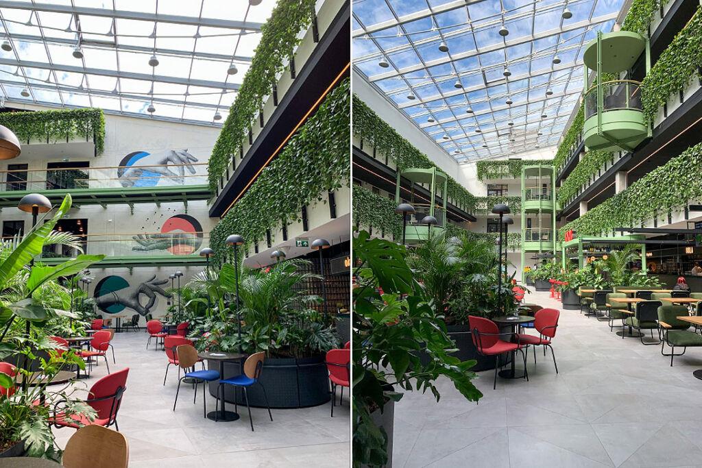 Inside the newly opened Paupys Market