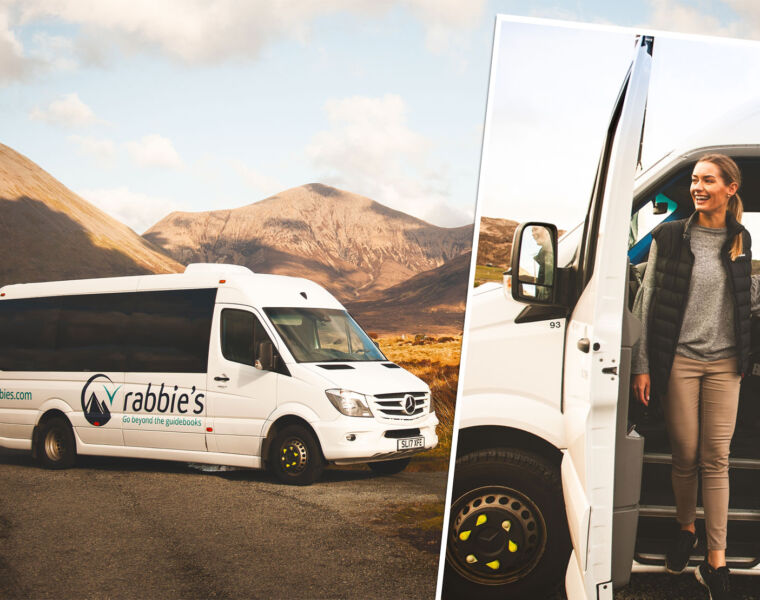 Rabbie's Small Group Tours are the Ultimate UK Holiday On Wheels
