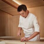 Sushi Master Chef Hirofumi Chiba at Sushi Mamoru