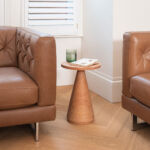 The Anden JAC Side Table Made from a Single Plank of Douglas Fir