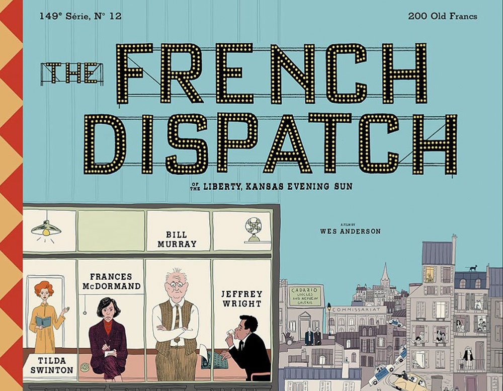 The French Dispatch Film poster