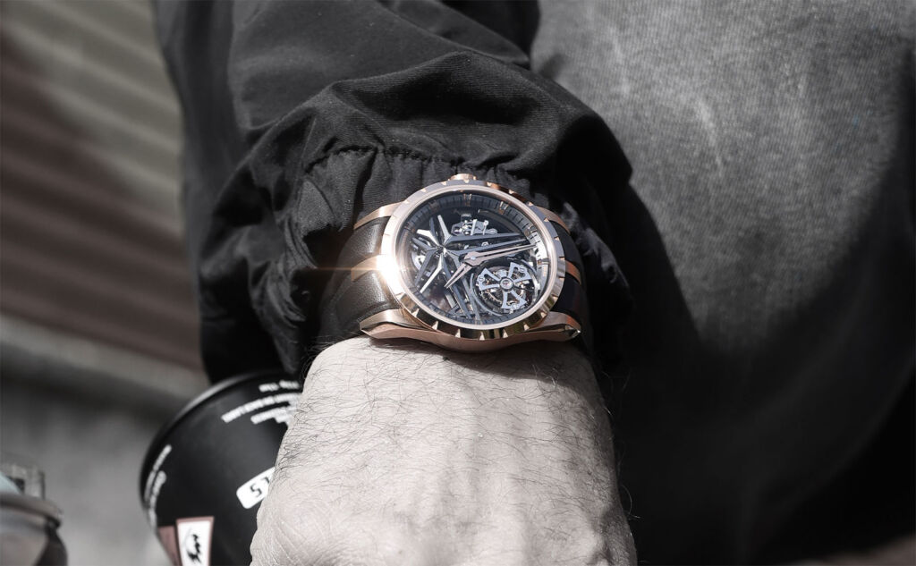 The 2021 Roger Dubuis Excalibur Novelties Cuts Through the Competition