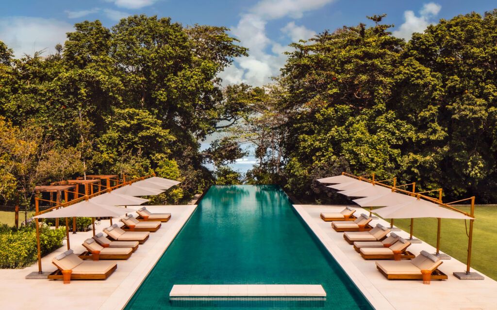 The infinity pool at the One&Only Desaru Coast