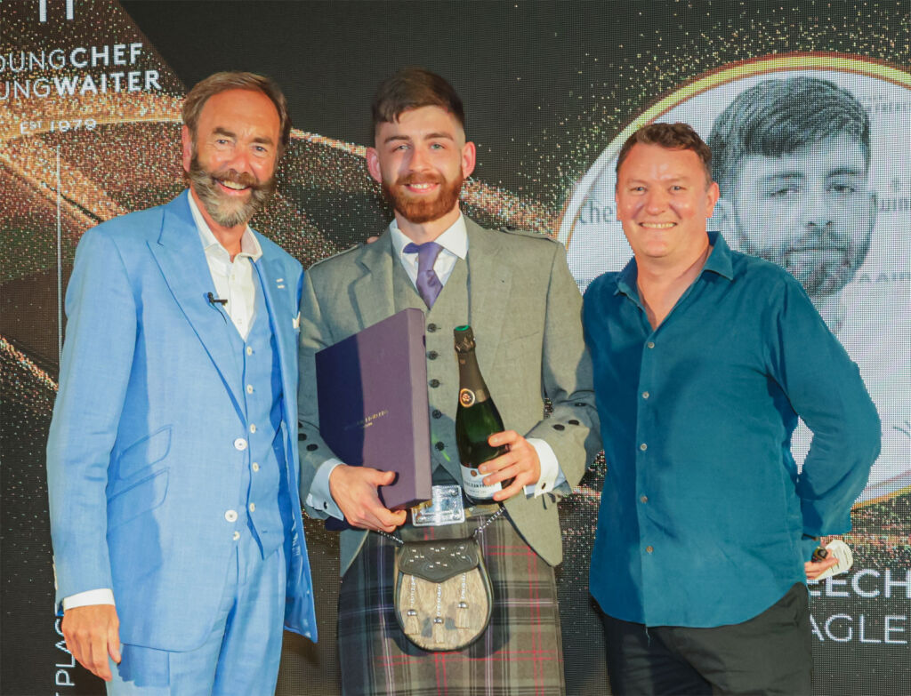 UK Young Chef of the Year Peter Meechan of Gleneagles