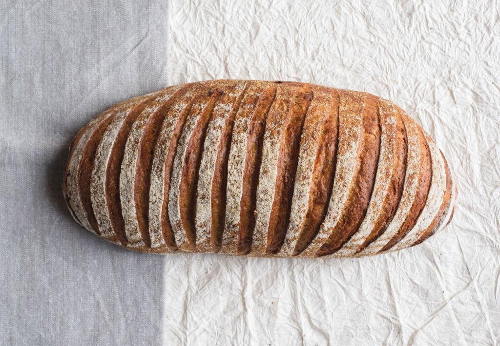 A Lovingly Artisan Cheese Marmite sourdough loaf