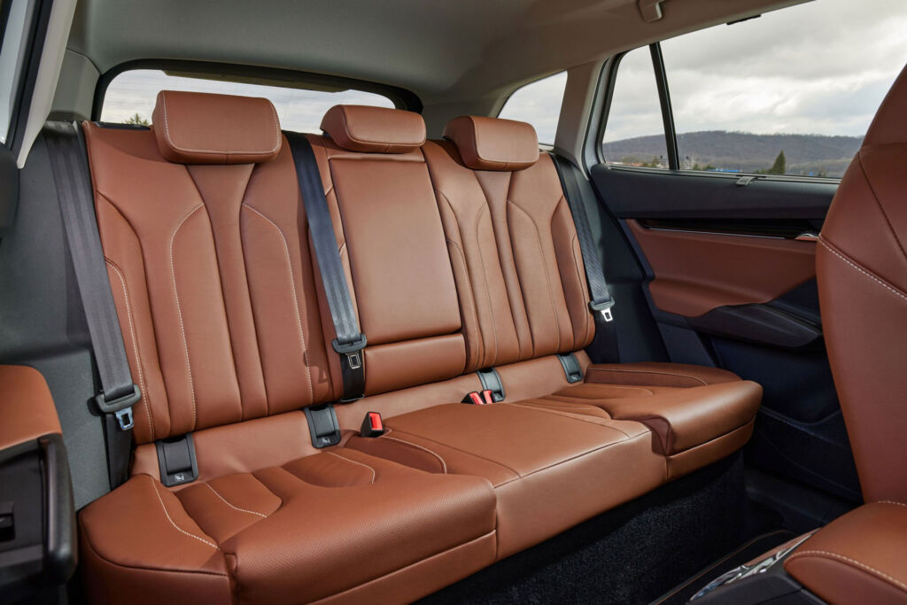 The rear seats can easily accommodate three full grown adults