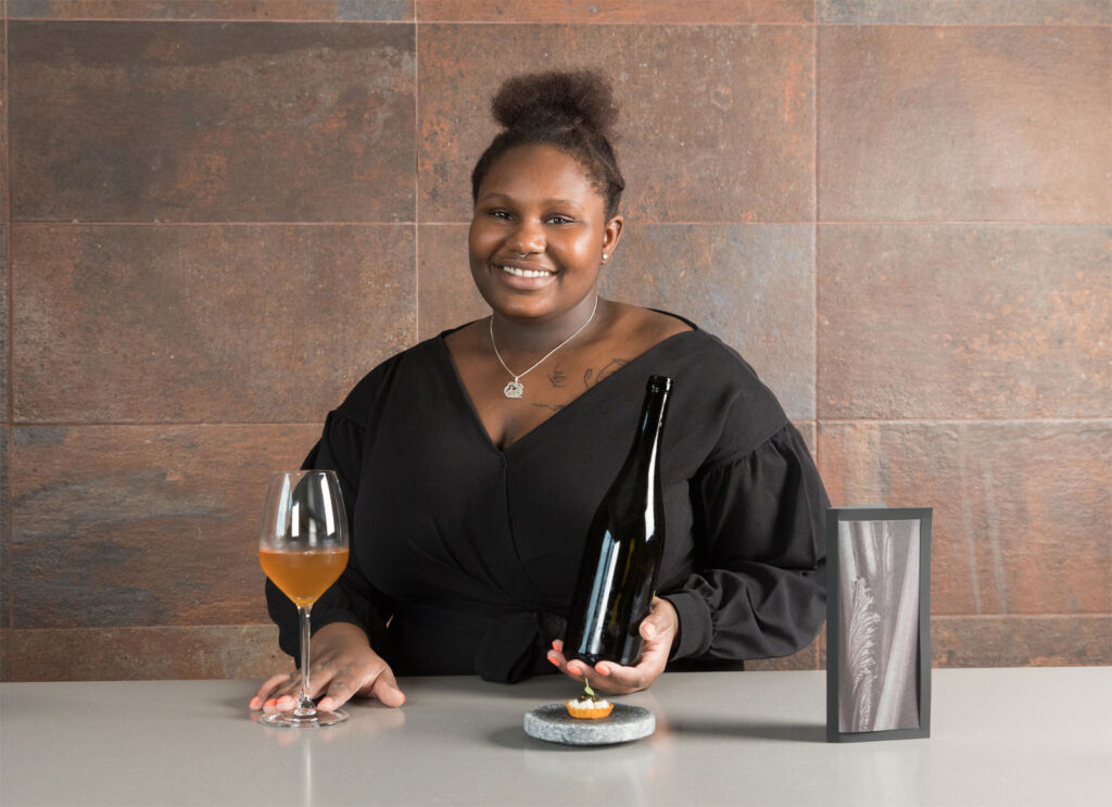 Aulis Restaurant Manager Laudy Gibba Smith
