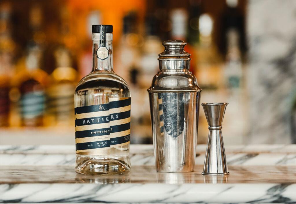 Bottle of Hattiers Eminence White Rum