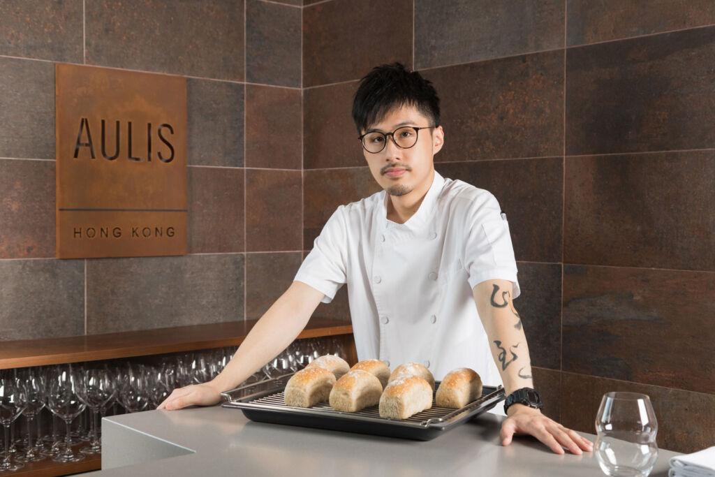Chef Fai Choi at Aulis Hong Kong