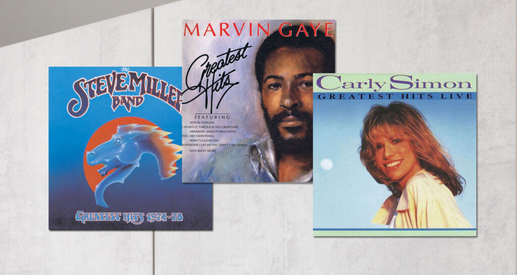 Classic albums from The Steve Miller Band, Marvin Gaye and Carly Simon