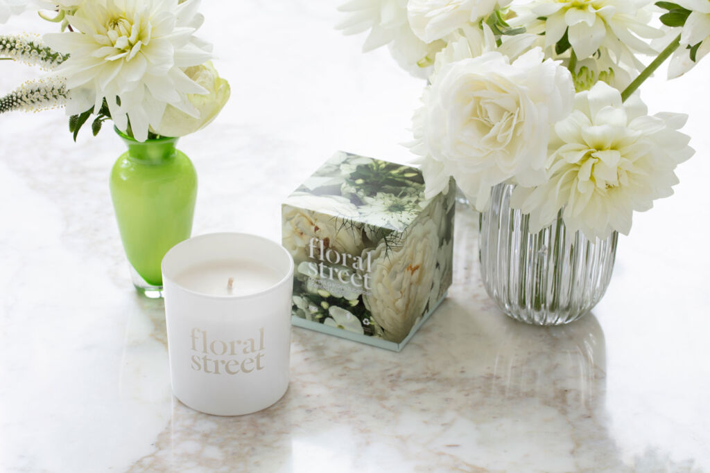 Michelle's Covent Garden tuberos scented candle