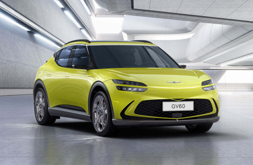 A First Look at the Genesis GV60 and Some of its Cutting-edge Features
