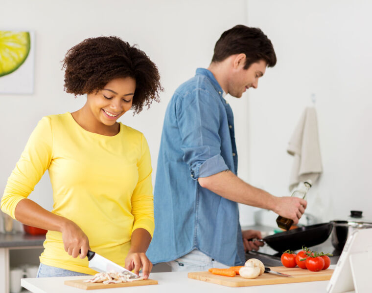 New Research Shows How Time in the Kitchen can Help you De-stress