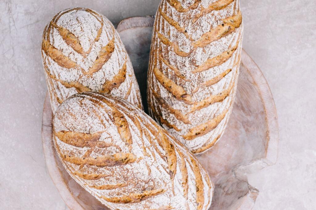 Lovingly Artisan sourdough loaves