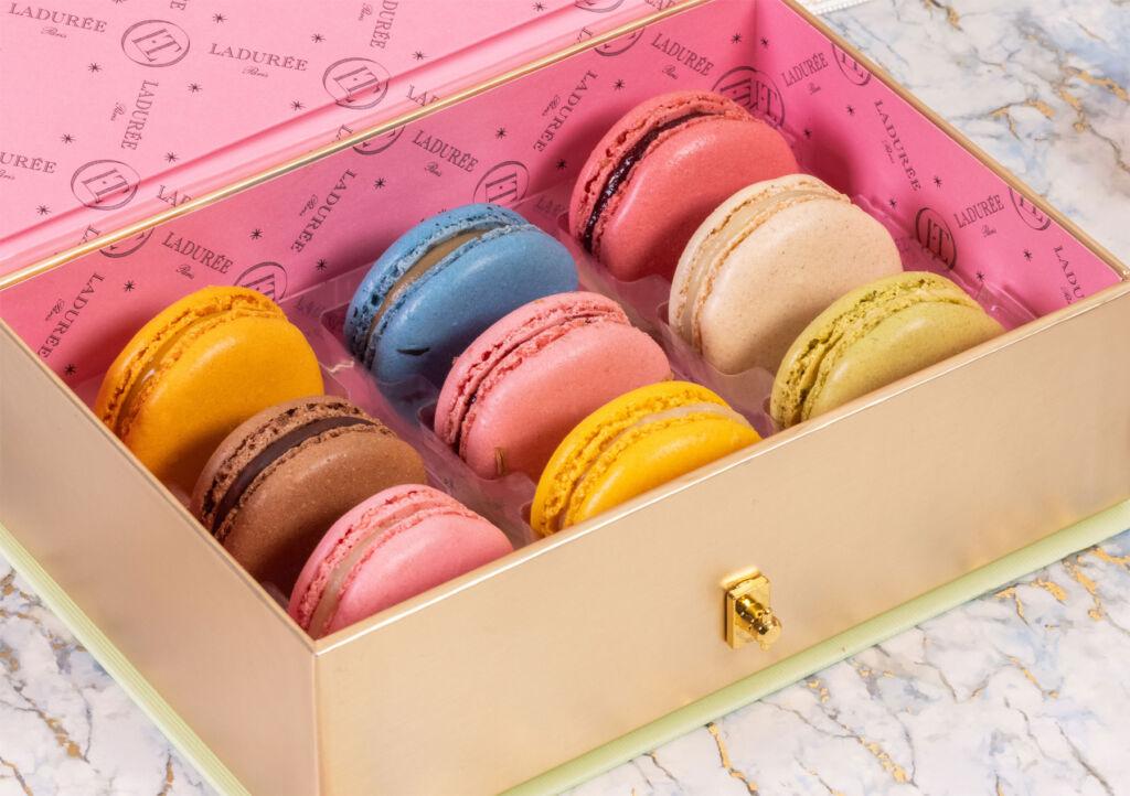 Maison Ladurée and Olympia Le-Tan's Luxury Macaron Presentation Box