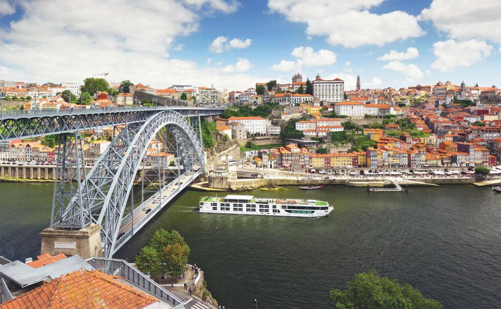 A river cruise through Porto in Portugal