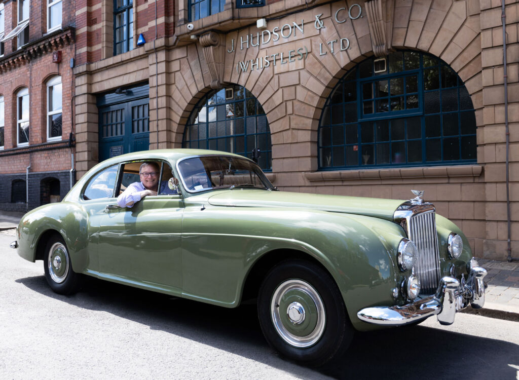 Hudson's 1954 Bentley Comes Home for a 'Whistle Stop' Tour