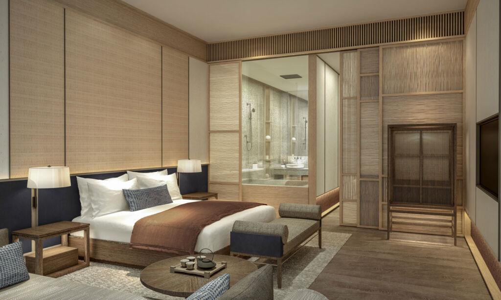 Standard King suite at ROKU Kyoto