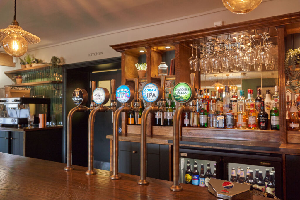And finally, no good traditional English Inn would be complete without a well-stocked bar