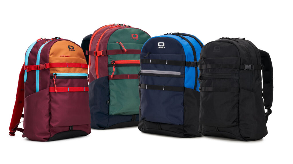 The Ogio Alpha+ range of Backpacks