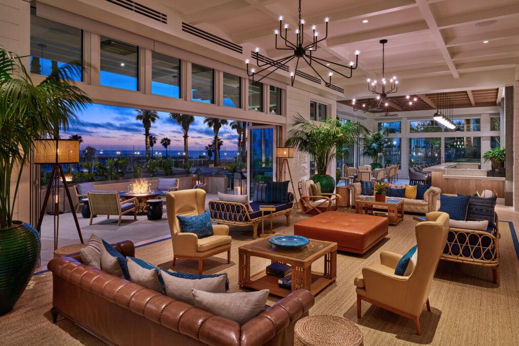 Inside the Shore Room Lounge
