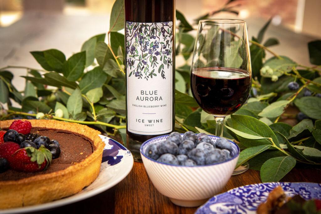 Blue Aurora English Blueberry Ice Wine